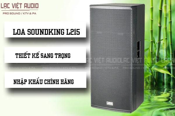 Tính năng nổi bật của sản phẩm Loa soundking L215