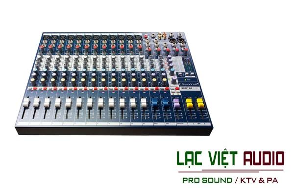 Giới thiệu về sản phẩm Mixer soundcraft EFX12