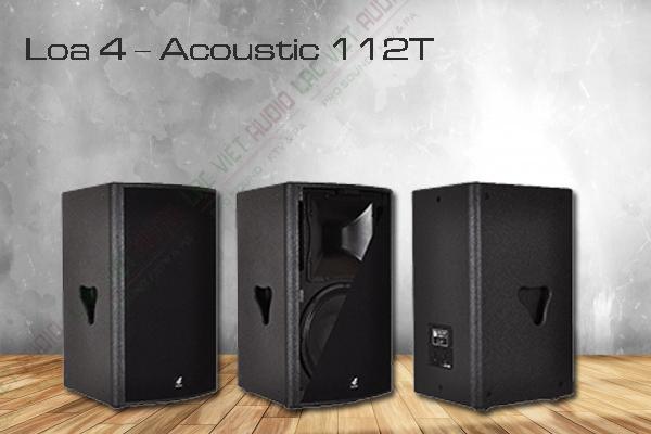 Đôi loa 4 – Acoustic 112T