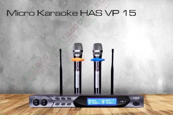 Micro Karaoke HAS VP 15