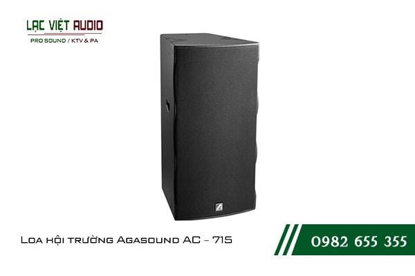 Giới thiệu về sản phẩm Loa hội trường Agasound AC 715