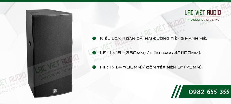 Các đặc điểm nổi bật của sản phẩm Loa hội trường Agasound AC 715