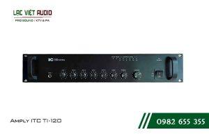 Giới thiệu về sản phẩm Amply ITC T 120