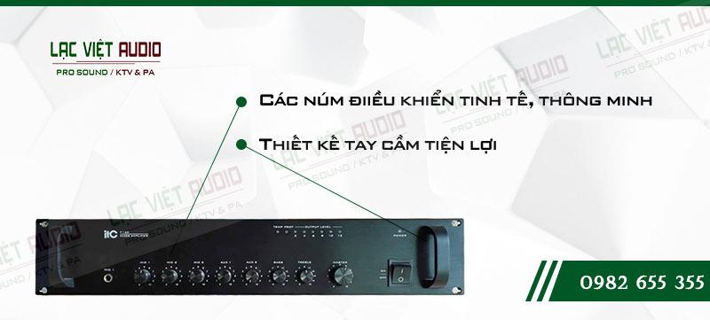 Các đặc điểm nổi bật của sản phẩm Amply ITC T 120