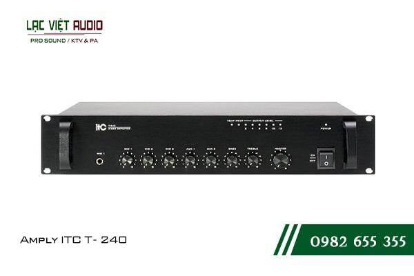 Giới thiệu về sản phẩm Amply ITC T240