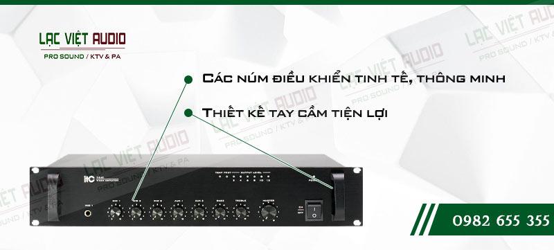 Các tính năng độc đáo của sản phẩm Amply ITC T240