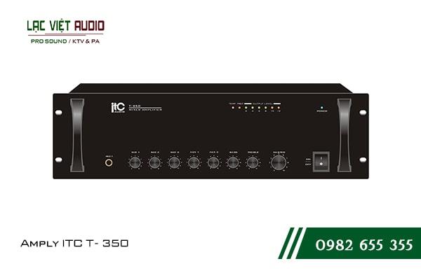 Giới thiệu về sản phẩm Amply ITC T 350