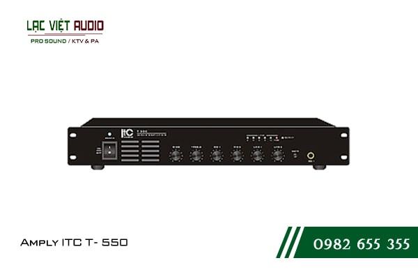 Giới thiệu về sản phẩm Amply ITC T 550