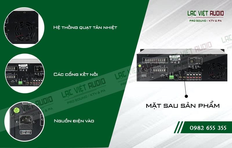 Thiết kế bên ngoài của sản phẩm Amply ITC TI 120
