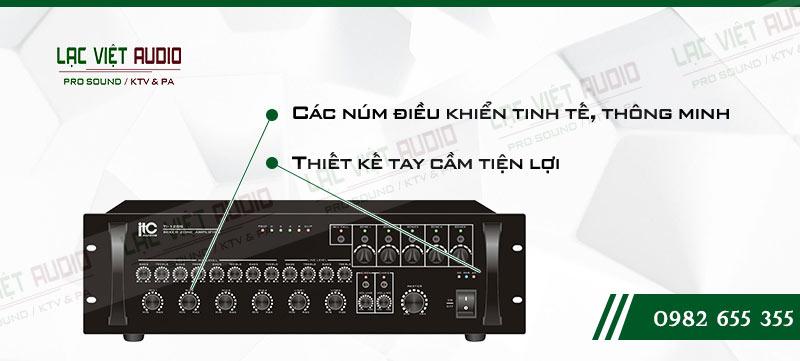 Các đặc điểm nổi bật của sản phẩm Amply ITC TI 120S