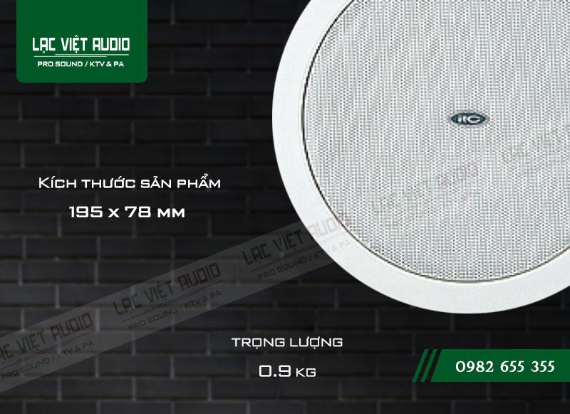 Thiết kế bên ngoài của sản phẩm Loa gắn trần ITC T 105Y