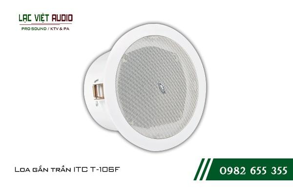 Giới thiệu về sản phẩm Loa gắn trần ITC T106F