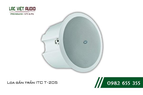 Giới thiệu về sản phẩm Loa gắn trần ITC T205