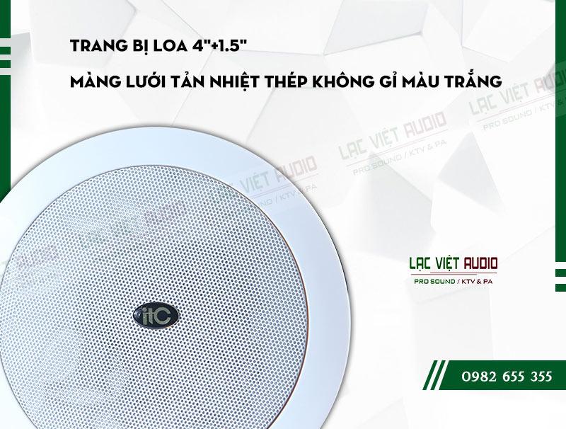 Các đặc điểm nổi bật của sản phẩm Loa gắn trần ITC T205