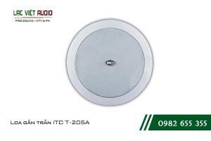 Giới thiệu về sản phẩm Loa gắn trần ITC T205A