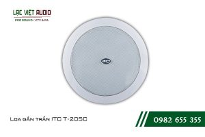 Giới thiệu về sản phẩm Loa gắn trần ITC T205C