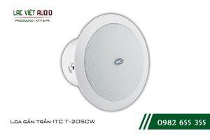 Giới thiệu về sản phẩm Loa gắn trần ITC T205CW