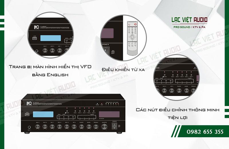 Các đặc điểm nổi bật của sản phẩm Âm ly kèm loa ITC TI 60MT