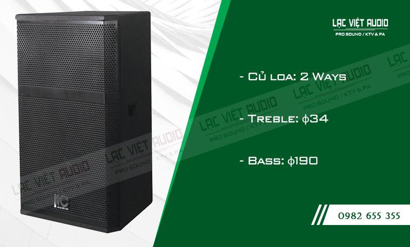 Các đặc điểm nổi bật của sản phẩm Loa sân khấu ITC TS 12HW