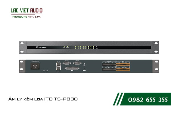 Giới thiệu về sản phẩm Âm ly kèm loa ITC TS P880