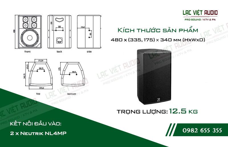 Thiết kế bên ngoài của sản phẩm Loa Agasound AT K10