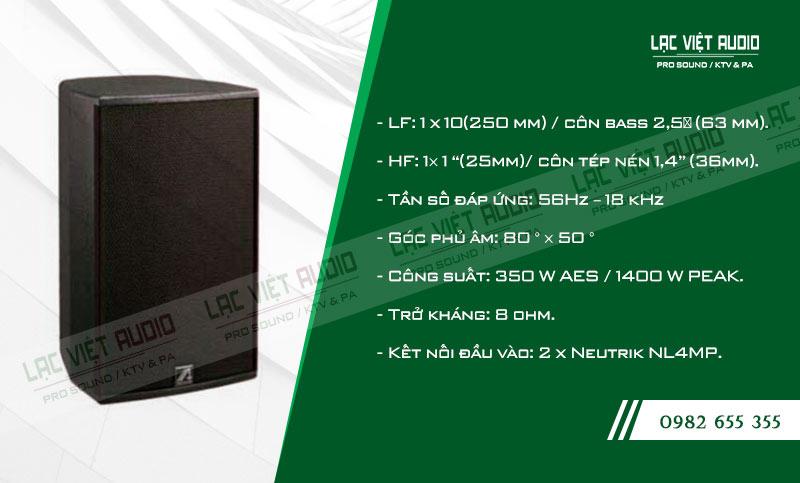 Tính năng nổi bật của sản phẩm Loa Agasound AX 110+