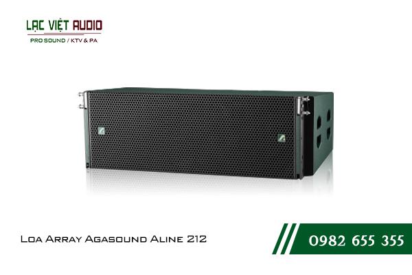 Giới thiệu về sản phẩm Loa Array Agasound Aline 212