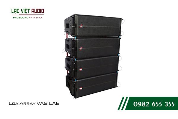 Giới thiệu về sản phẩm Loa Array VAS LA6