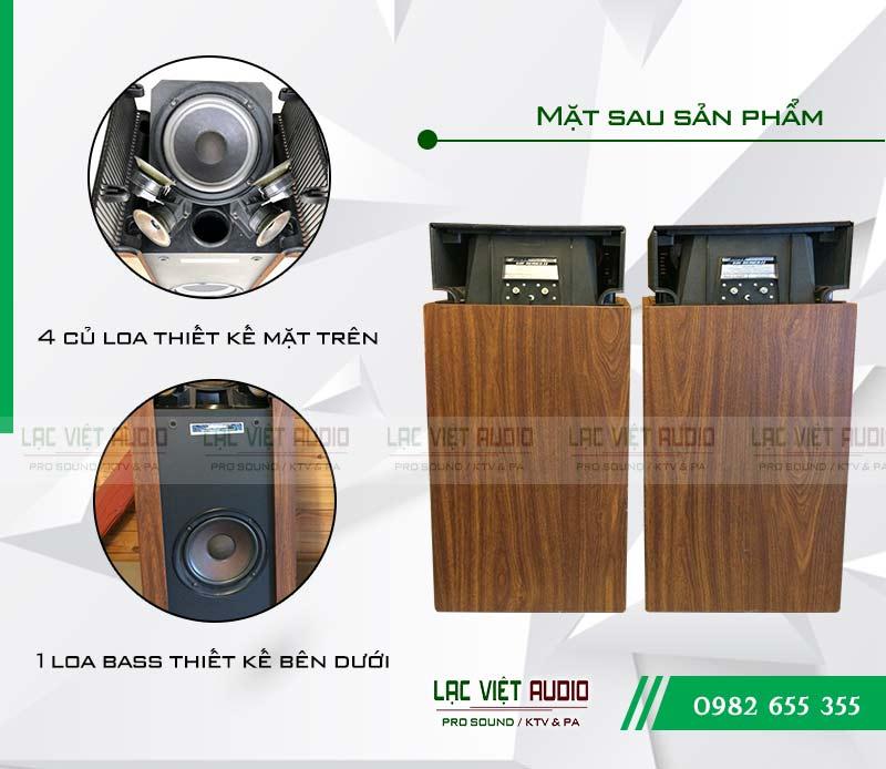 Loa bose 601 seri 2 ghép với amply nào thì hát karaoke hay?
