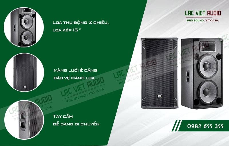 Các đặc điểm nổi bật của sản phẩm Loa hội trường OBT 425
