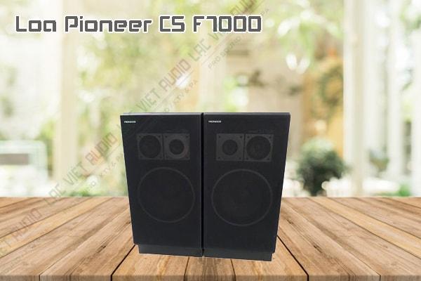 Thiết kế bên ngoài của sản phẩm Loa Pioneer CS F7000 Nhật bãi
