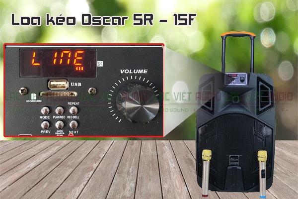Các đặc điểm nổi bật của sản phẩm Loa kéo Oscar SR 15F