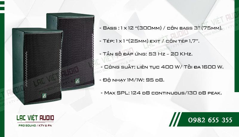 Các đặc điểm nổi bật của sản phẩm Loa karaoke Agasound AE 812