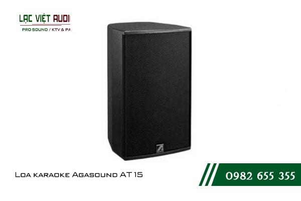 Giới thiệu về sản phẩm Loa karaoke Agasound AT 15