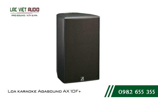 Giới thiệu về sản phẩm Loa karaoke Agasound AX 10F+