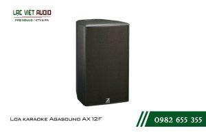 Giới thiệu về sản phẩm Loa karaoke Agasound AX 12F