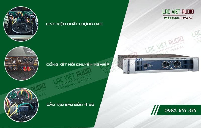 Các đặc điểm nổi bật của sản phẩm Cục đẩy OBT PA8800