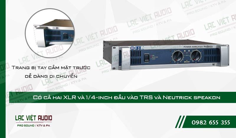 Thiết kế bên ngoài của sản phẩm Cục đẩy OBT PA8800