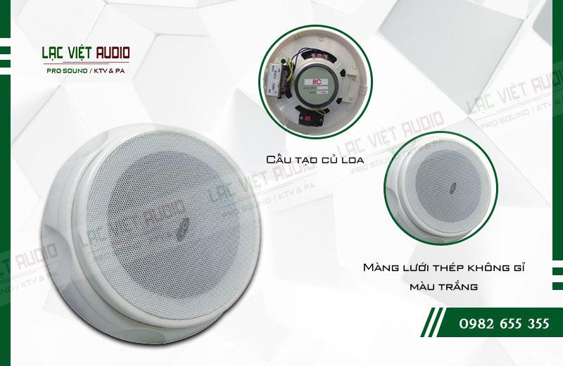 Các đặc điểm nổi bật của sản phẩm Loa gắn trần ITC T105H
