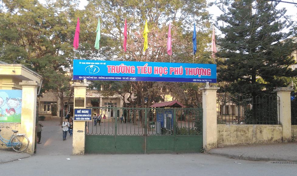 Trường tiểu học Tây Hồ- Phú Thượng- Hà Nội