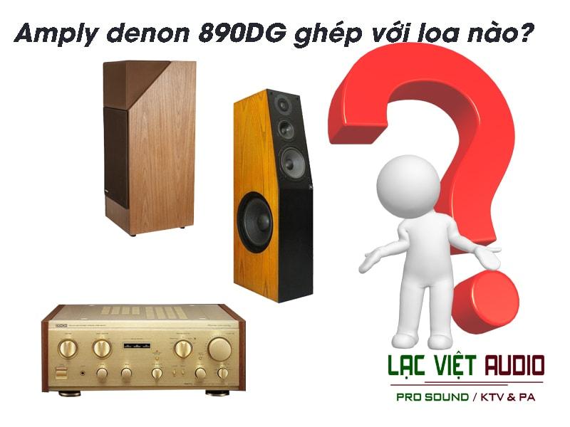 Giới thiệu về sản phẩm Amply denon 890DG