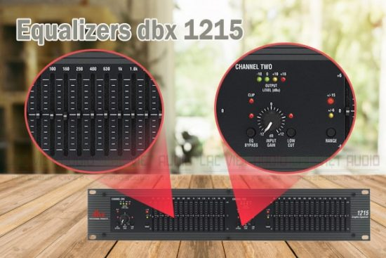 Equalizer DBX 1215 chất lượng cao, thiết kế hiện đại