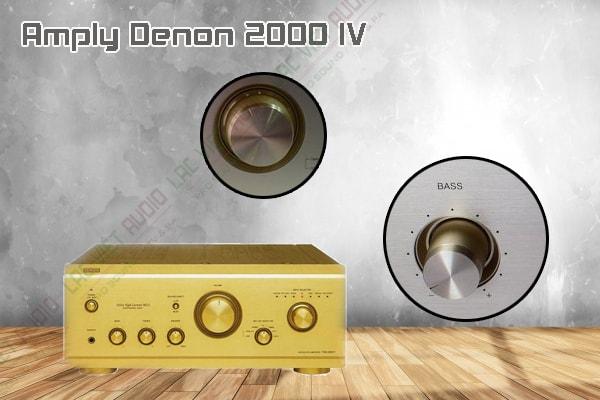 Các tính năng độc đáo của sản phẩm Amply Denon 2000 IV
