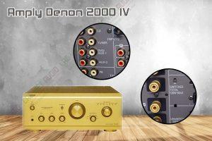 Thiết kế bên ngoài của sản phẩm Amply Denon 2000 IV