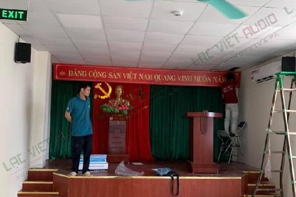 Dự án âm thanh phòng họp Trụ Sở bảo hiểm xã hội huyện Thạch Thất