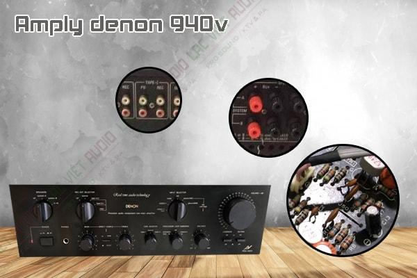 Các tính năng độc đáo của sản phẩm amply denon 940v