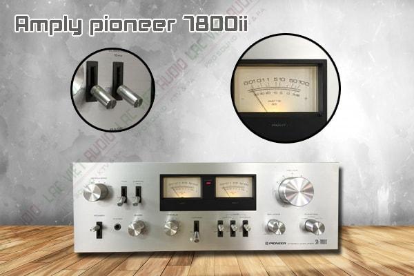 Nên ghép nối thiết bị Amply pioneer 7800ii này với sản phẩm nào?