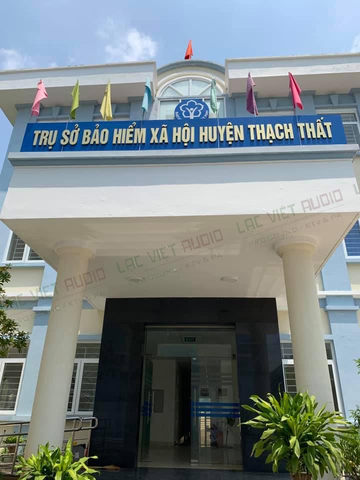Trụ Sở bảo hiểm xã hội huyện Thạch Thất