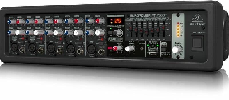 Sản phẩm Mixer Behringer PMP 550M
