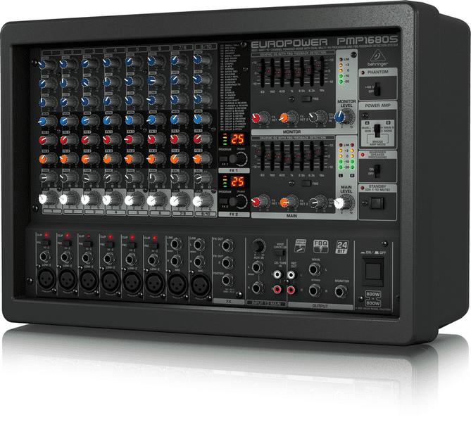 Cấu tạo Mixer Behringer PMP 1680S